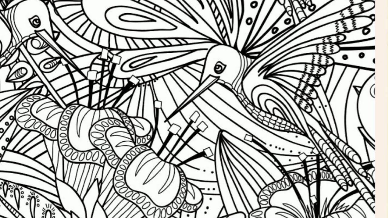 Pause coloriage n 1 teaser 1 fleurs youtube - Coloriage youtube ...