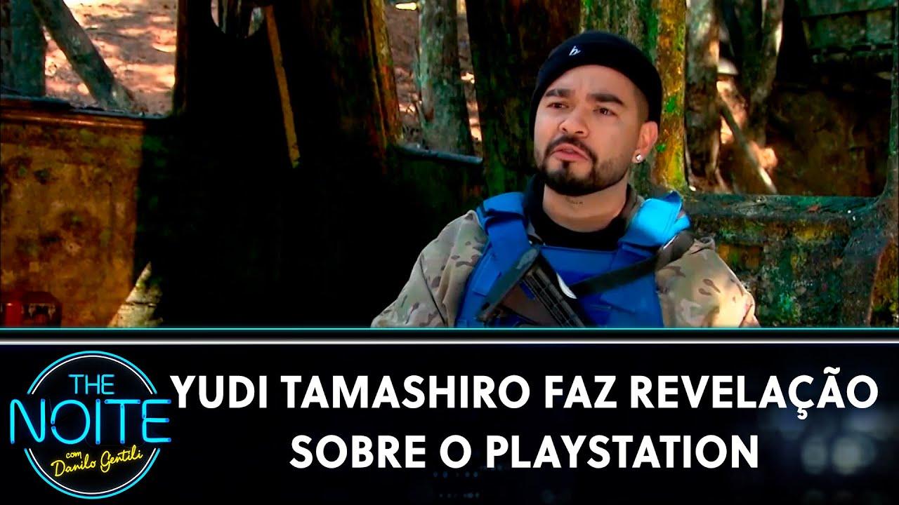 Yudi Tamashiro faz revelações sobre o Playstation  | The Noite (23/07/21)