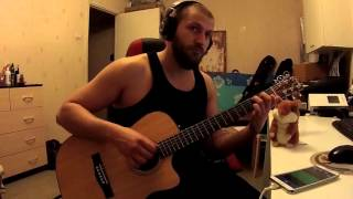 """Hammerfall - Imperial"" guitar cover."