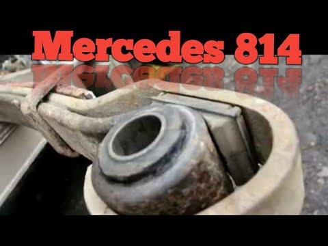 Замена сайлентблоков рессор, добавили лист Mercedes 814