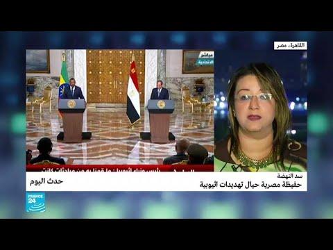 سد النهضة: حفيظة مصرية حيال تهديدات إثيوبية  - نشر قبل 4 ساعة