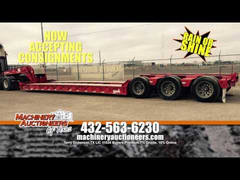Machinery Auctioneers (of Texas) HUGE Odessa Auction