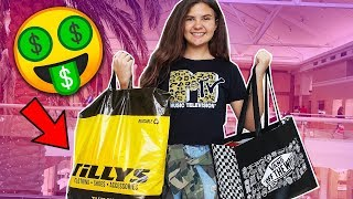 TWEEN CLOTHES SHOPPiNG HAUL iN HUGE MALL!! ????️????