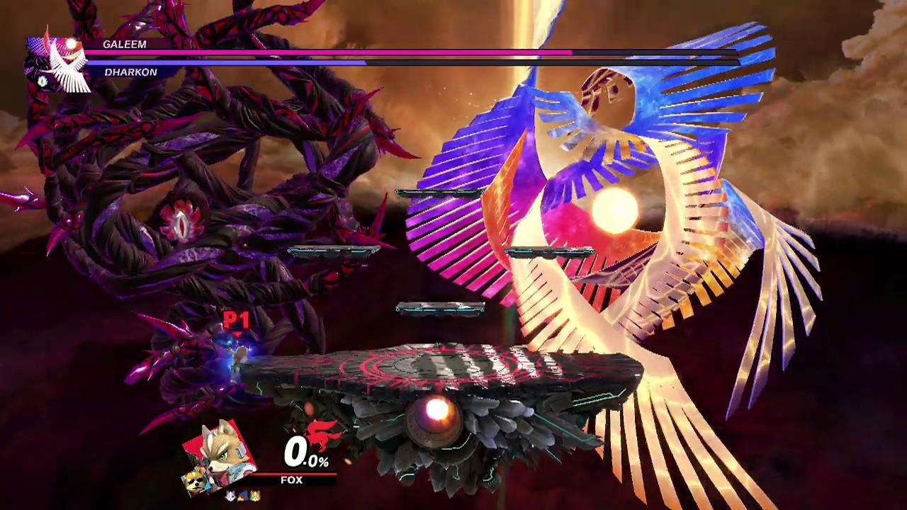 Super Smash Bros Ultimate Boss 12 Final Boss Galeem Dharkon