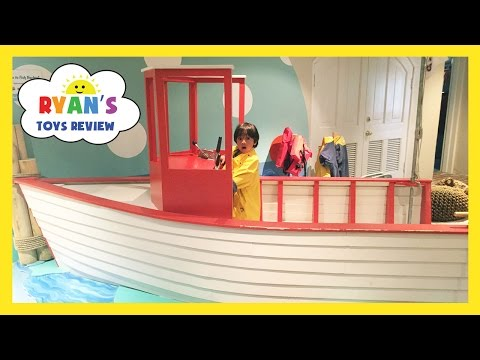 Thumbnail: CHILDREN'S MUSEUM Family Fun Trip to Kids Indoor Play Area with Children Activities and Kids Toys