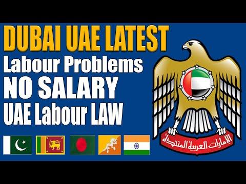 Dubai UAE Latest News No Salary Labour Problems Termination