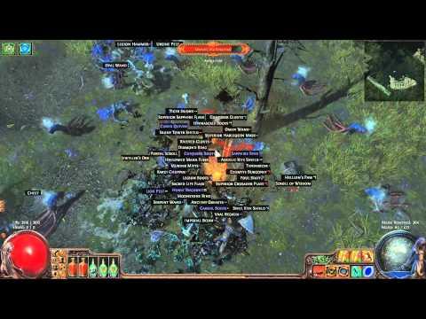 Poe Sunder Dw Duelist Build Tree
