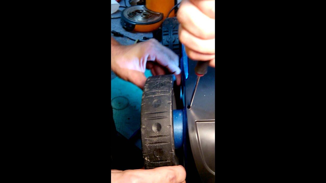 Demontage dune roue de robot vortex  YouTube