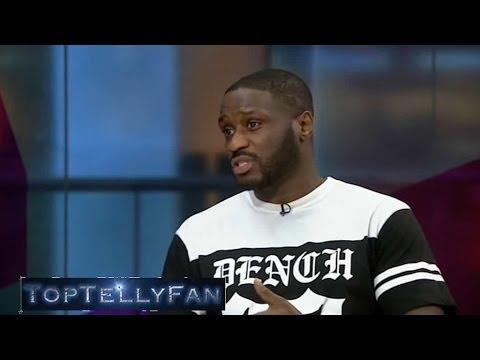 Lethal Bizzle talks about Dr Dre's Beats headphones (Channel 4 News, 9.5.14)