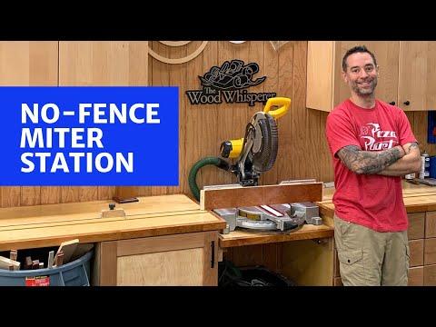 No Fence Miter Station
