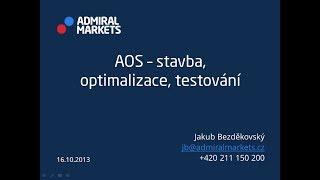 Automatické obchodní systémy: stavba, optimalizace, testování