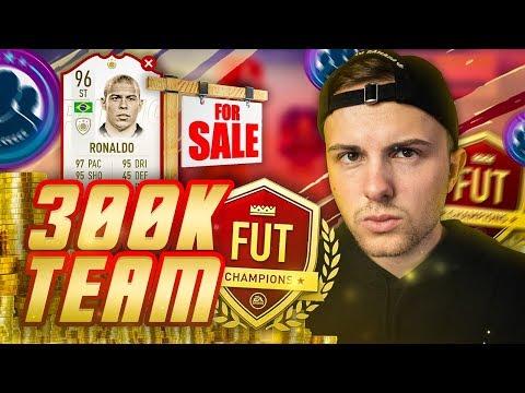 FIFA 19: AUSVERKAUF + 300K WL TEAM bauen 😱🔥 Menü Stream! thumbnail