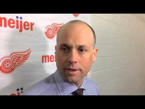 Jeff Blashill Explains Decision To Start Petr Mrazek And Plan For Goalies Moving Forward