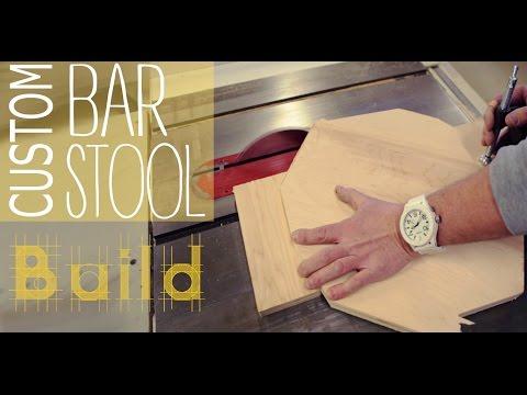 DIY Custom Bar Stool: The Build  | PART 2