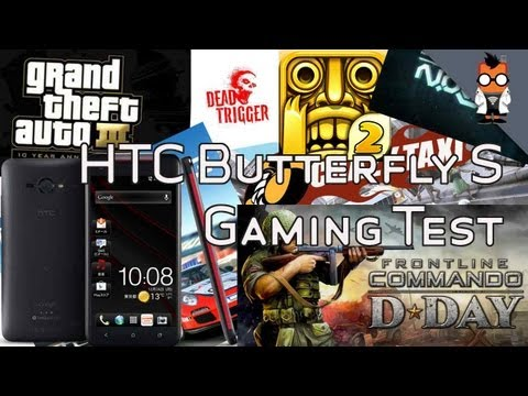 HTC Butterfly S - Gaming Demo