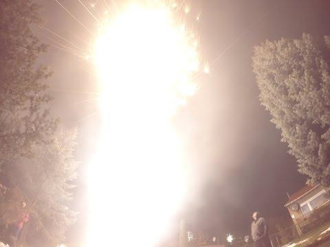Hayden Feuerwerk Silvester 2014