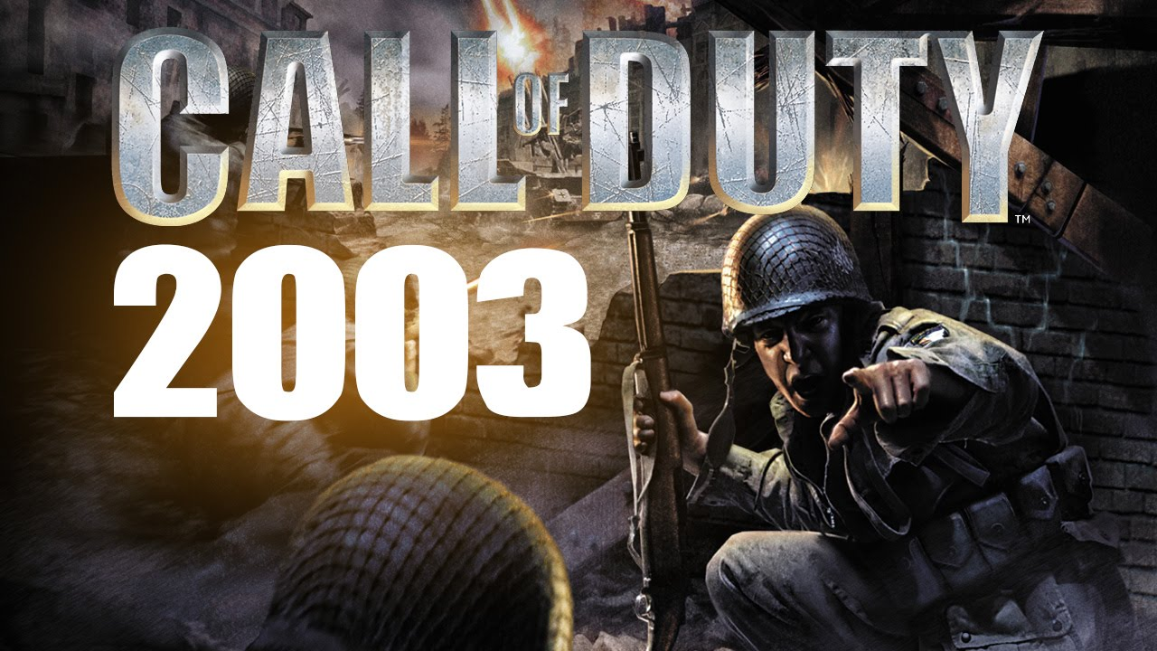 First Ever Call Of Duty Call Of Duty 2003 Every Call Of Duty Series Youtube