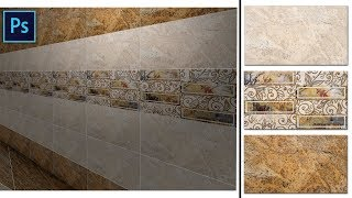 How to Do Tiles Designing in Photoshop   Make Seamlesss Pattern in Photoshop for Ceramic Industry