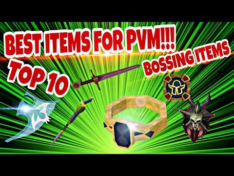 RuneScape 3 Top 10 Items For PVM Or BOSSING 2019