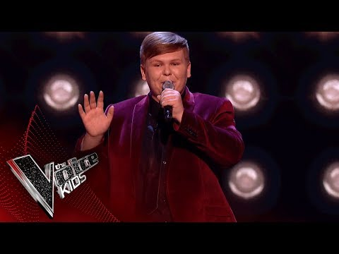 Jacob Performs 'Puttin' On The Ritz': Blinds 1 | The Voice Kids UK 2018