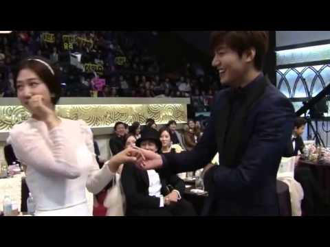 Lee Min Ho And Park Shin Hye Crying Say Goodbye The Heirs So Sad