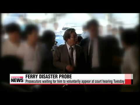 Prosecutors wait for practical owner of ferry operator Yoo to voluntarily appear