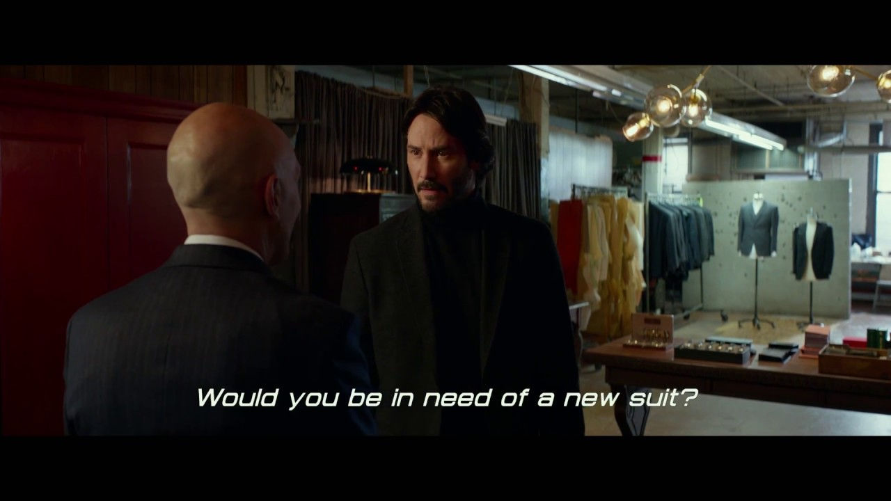 John Wick Chapter 2 John Suits Up Movie Clip 1 Youtube