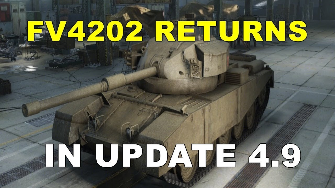 WOT Console II FV4202 (X) RETURNS IN UPDATE 4 9