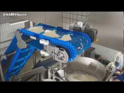 Linea para envasar queso turo en bolsas de 500 gr