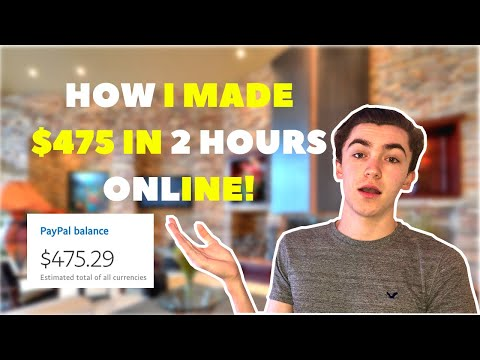 How I Made $475 In 2 Hours With Service Arbitrage (Step By Step Tutorial)