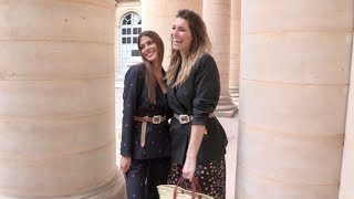 Laury Thilleman, Iris Mittenaere and more front row for the Paul & Joe Fashion Show in Paris