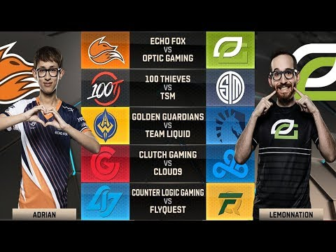 NA LCS Highlights Week 3 | W3D2 Spring Split 2018 + Standings and MVP from each role analysis