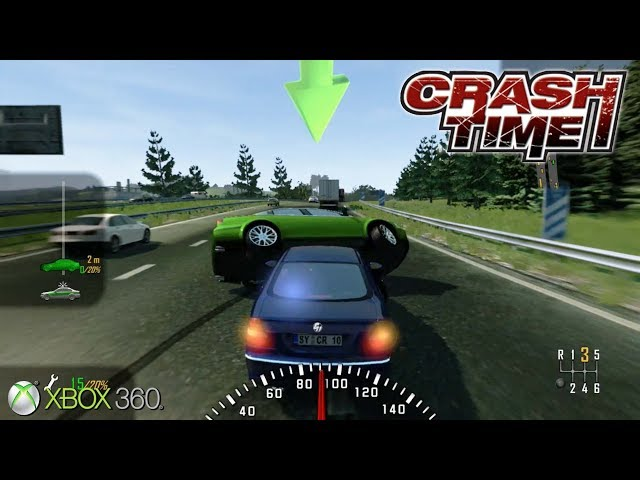 Crash Time - Xbox 360 Gameplay (2008)