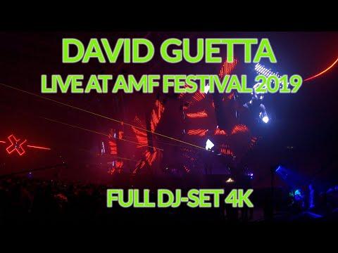 David Guetta @AMF Festival 2019 - Full DJ-Set 4k