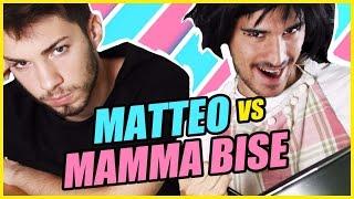 MATTEO VS MAMMA BISE - Choco Krave Challenge - Matt & Bise