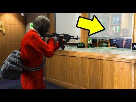 Robbing Banks in GTA 5 Has a SAD ENDING!