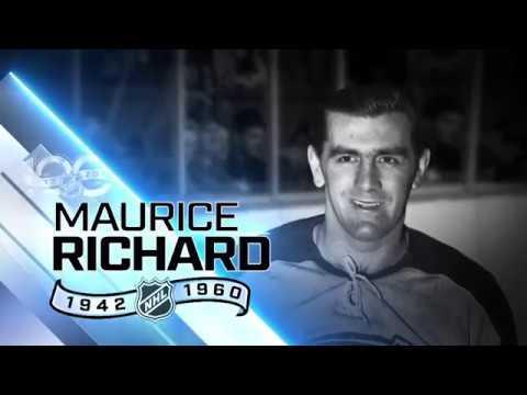 НХЛ-100: Морис Ришар