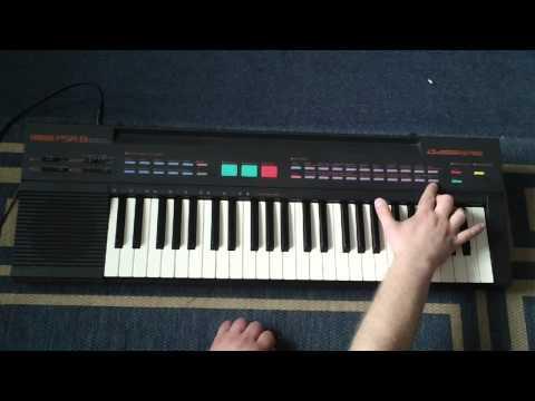 Yamaha PSR-8 Keyboard Sounds And Features
