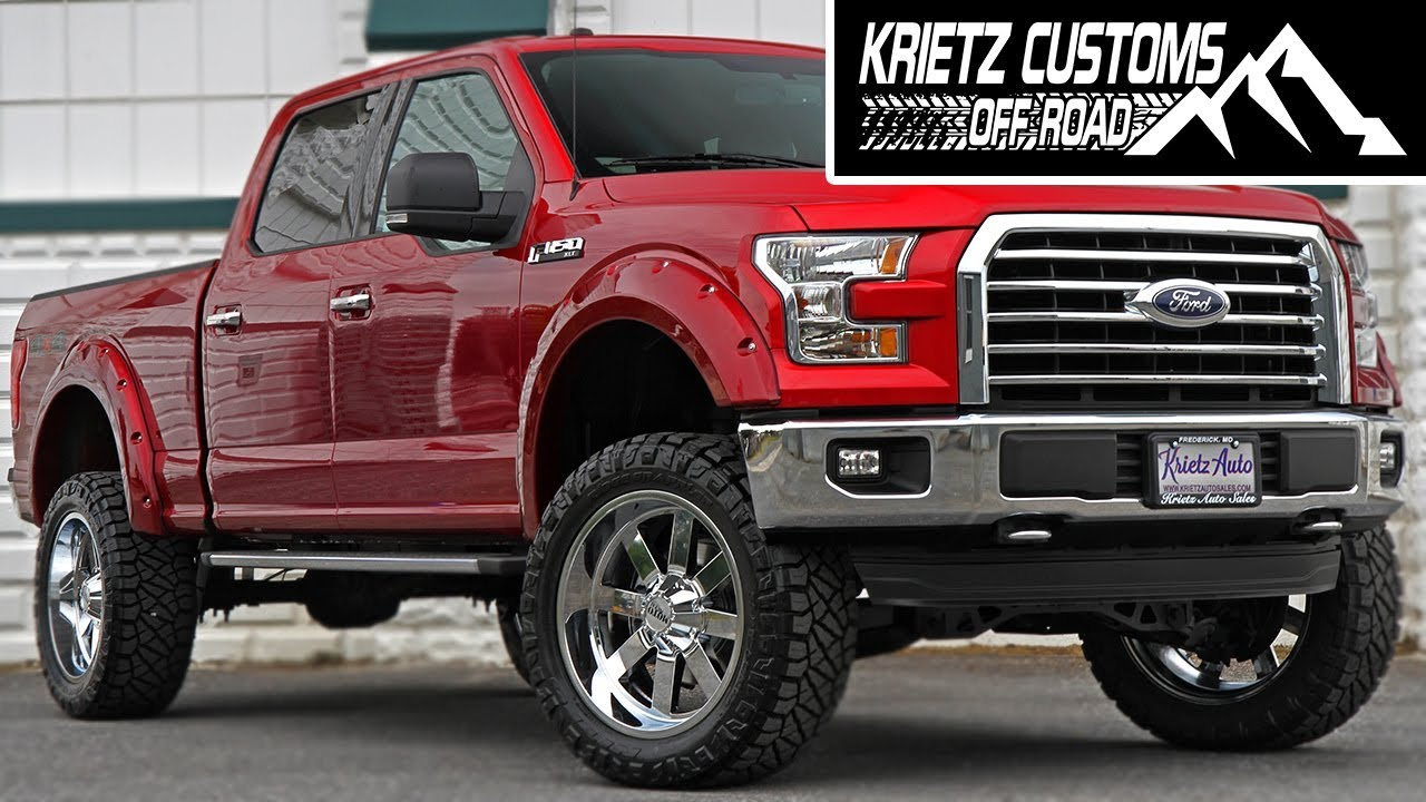 Krietz Auto Sales >> Lifted Ford F150 With Rough Country Krietz Auto