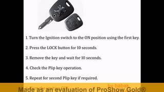PEUGEOT 307 PLIP  - Remote Key Programming-BY BABAK
