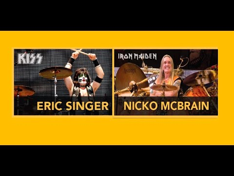 """Iron Maiden drummer Nicko McBrain on influences: """"I was playing pop music"""""""