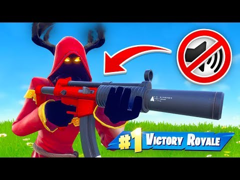 🔴 SILENCED WEAPONS ONLY in Fortnite Battle Royale thumbnail
