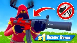 🔴 SILENCED WEAPONS ONLY in Fortnite Battle Royale