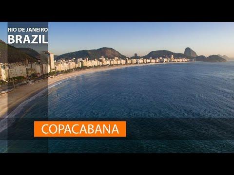Copacabana, Rio de Janeiro! Travel & vacation in Brazil! 😀