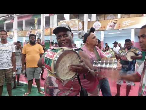 Bateria ensaia com Marquinho Art'Samba - Samba Deivid Domenico