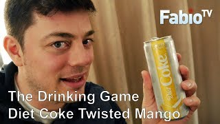 The Drinking Game - Diet Coke Twisted Mango