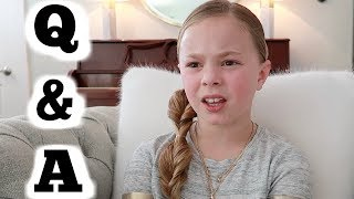 Kids Honest Q and A