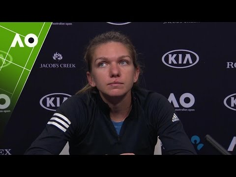 Simona Halep Press Conference (1R)   Australian Open 2017