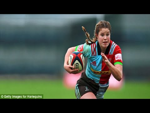 England wing Jess Breach is a real high flyer as she jets in from Japan at last minute to lead