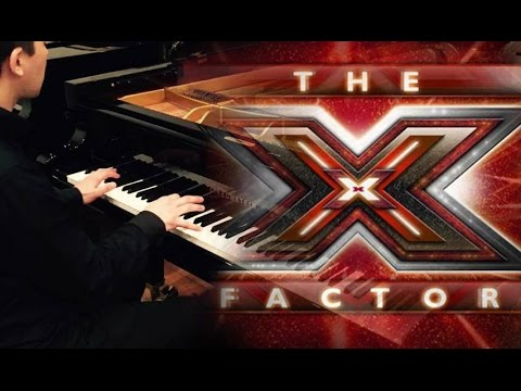 The X Factor Theme Song on piano